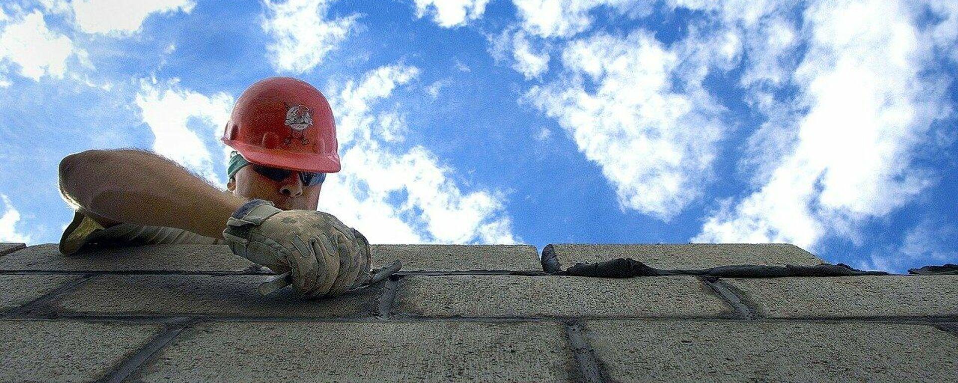 Bauarbeiter (Symbolbild) - SNA, 1920, 07.10.2021
