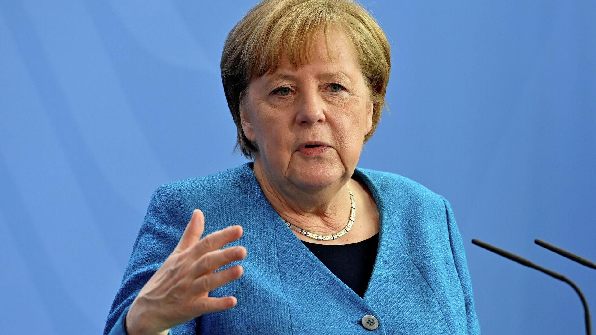 Bundeskanzlerin Angela Merkel - SNA, 1920, 25.05.2021
