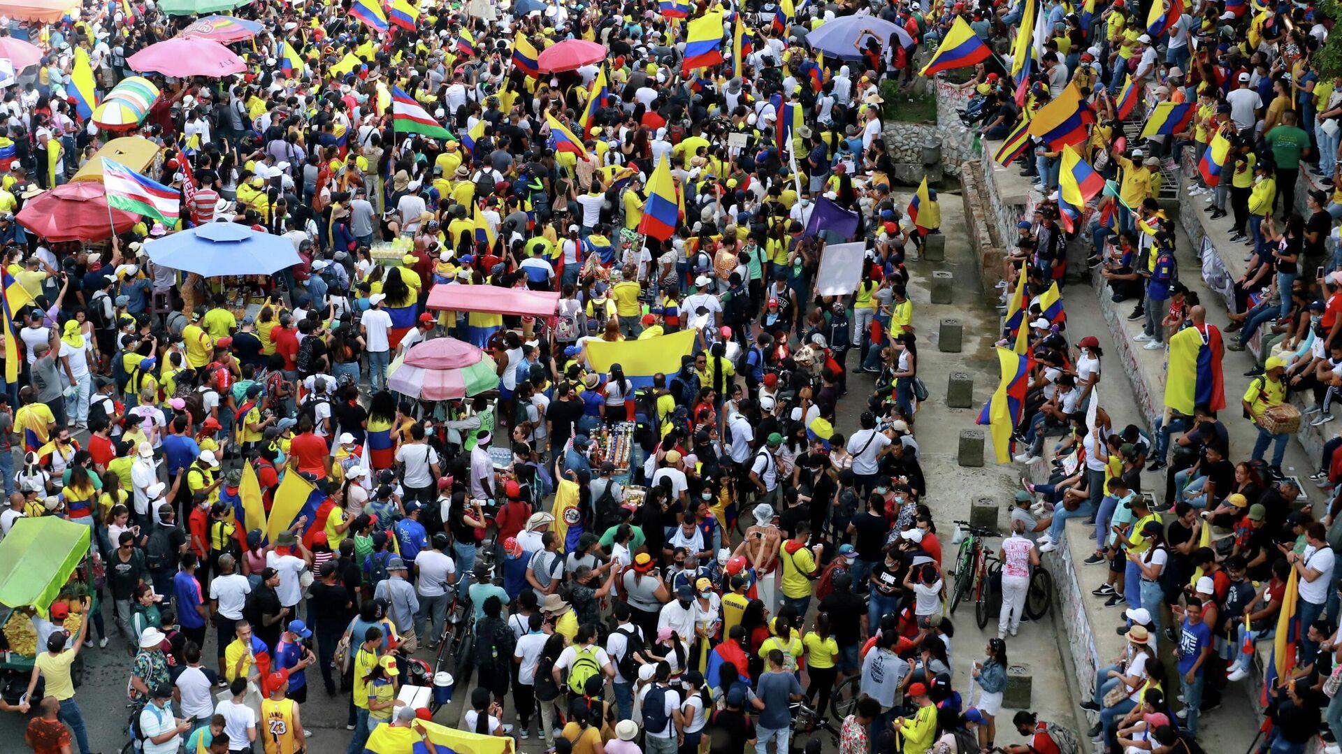 Proteste in Kolumbien - SNA, 1920, 29.05.2021