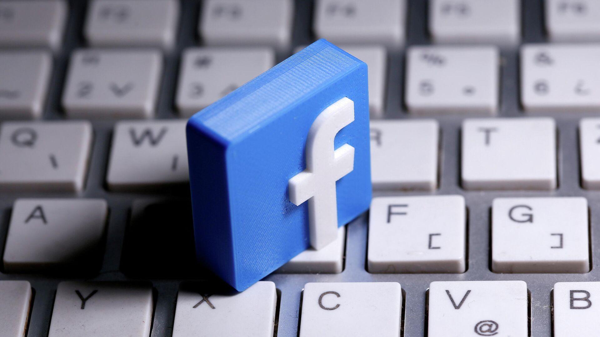 Das Facebook-Logo - SNA, 1920, 27.05.2021