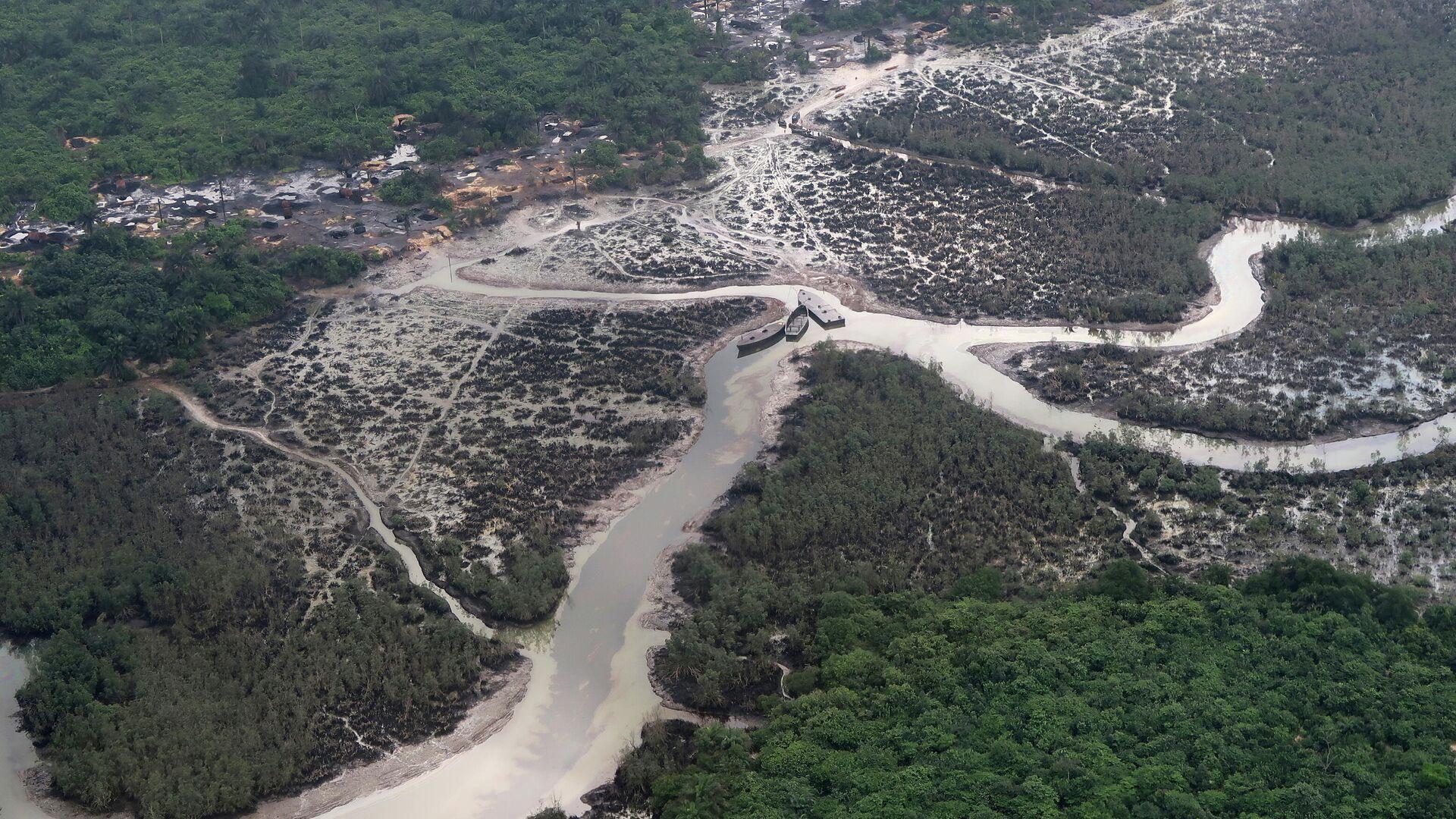 Niger-Fluss in Nigeria  - SNA, 1920, 27.05.2021