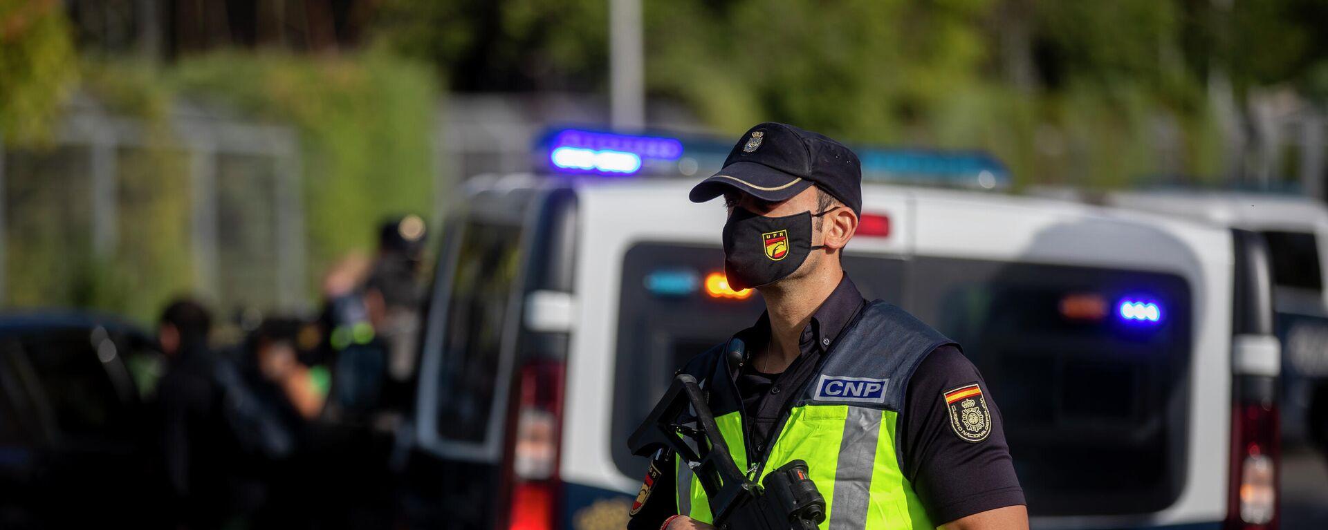 Ein Beamter der spanischen Polizei  - SNA, 1920, 20.09.2021