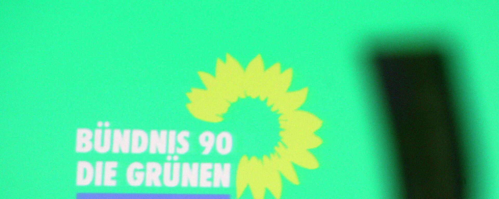 Das Logo der Partei Bündnis 90/Die Grünen - SNA, 1920, 08.09.2021