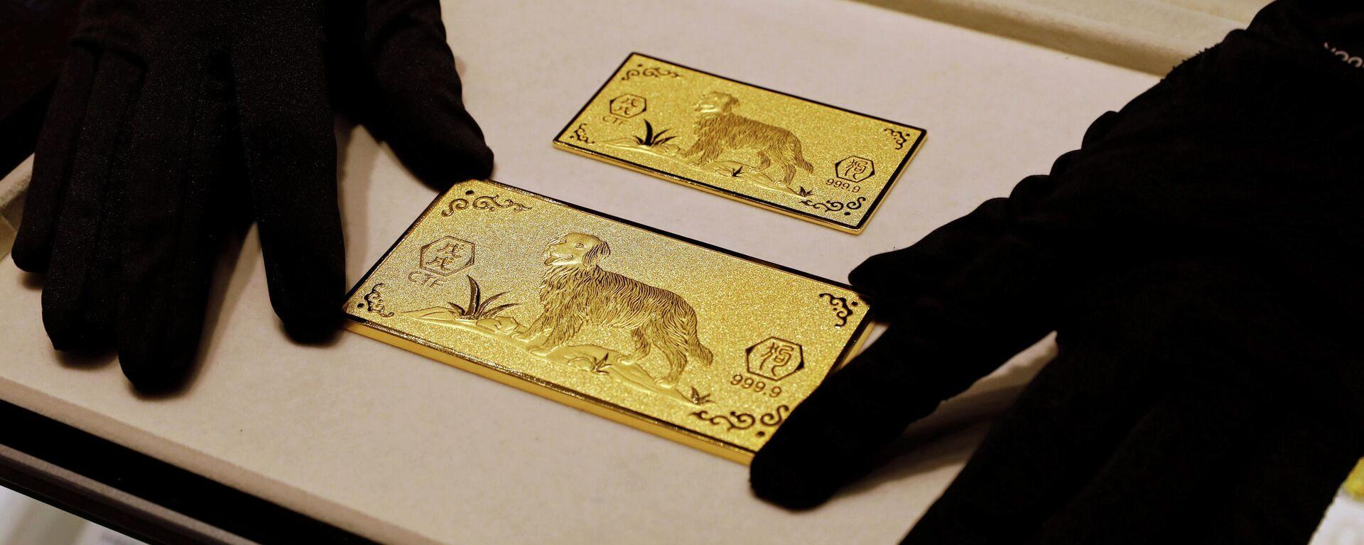 Goldbarren (Symbolbild) - SNA, 1920, 29.05.2021