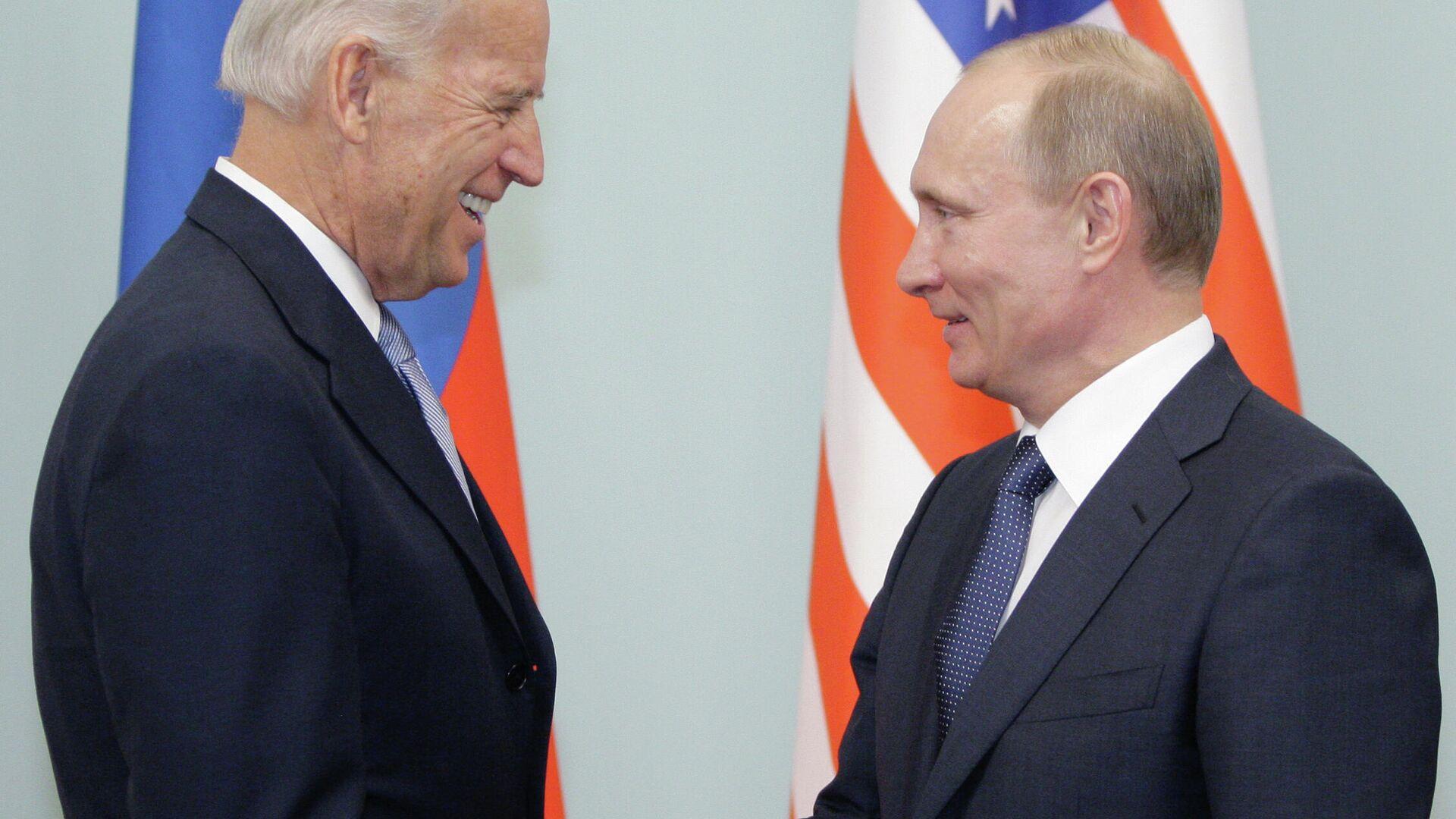 Treffen von Wladimir Putin und Joe Biden in Moskau - SNA, 1920, 13.07.2021