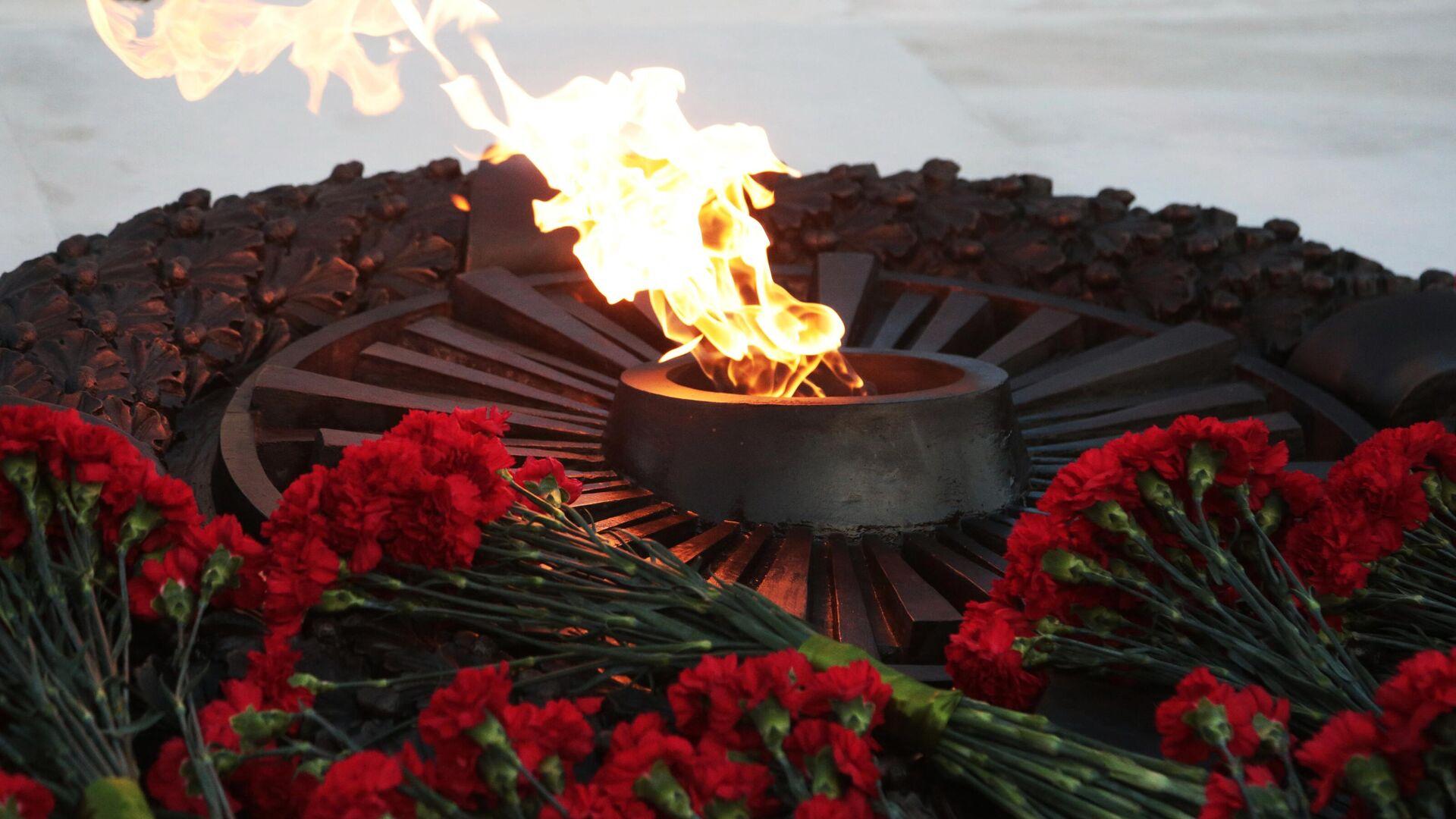 Ewige Flamme zu Ehren der Opfer des Zweiten Weltkriegs - SNA, 1920, 31.05.2021