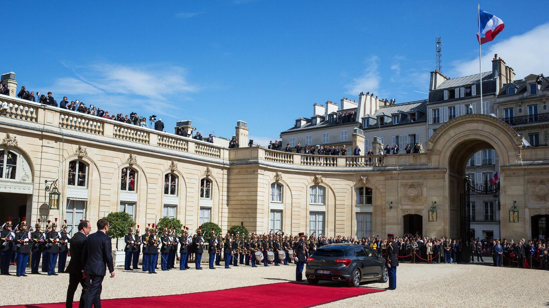 Élysée-Palast während der Amtseinführung von Emmanuel Macron (Archivbild) - SNA, 1920, 31.05.2021