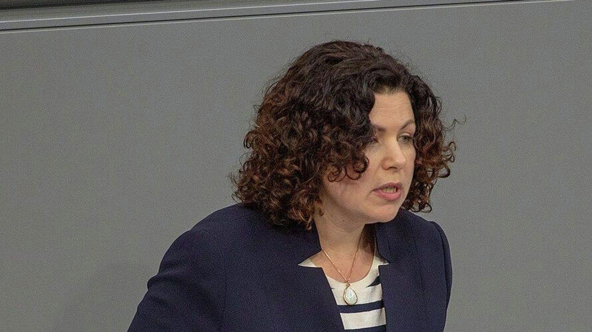 Chefin der Linksfraktion im Bundestag, Amira Mohamed Ali - SNA, 1920, 01.09.2021