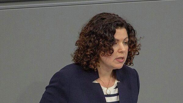 Chefin der Linksfraktion im Bundestag, Amira Mohamed Ali - SNA