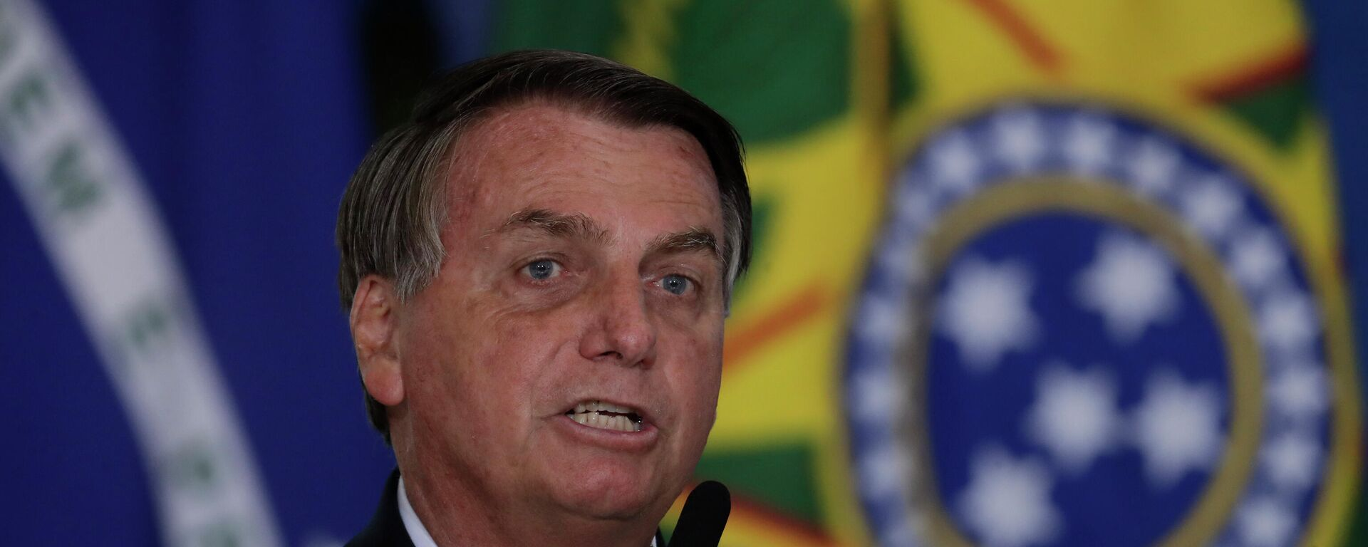 Brasilianischer Präsident Jair Bolsonaro  - SNA, 1920, 28.08.2021