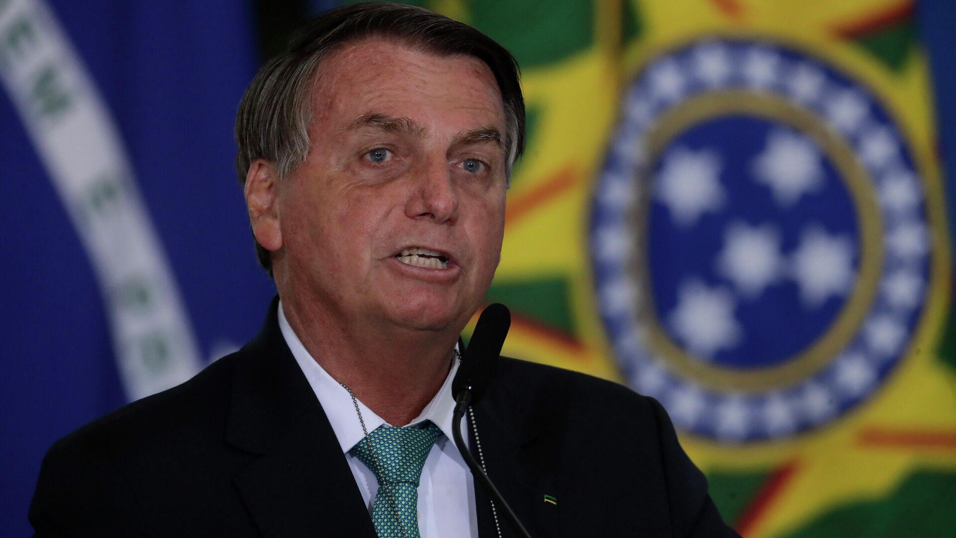 Brasilianischer Präsident Jair Bolsonaro  - SNA, 1920, 02.06.2021