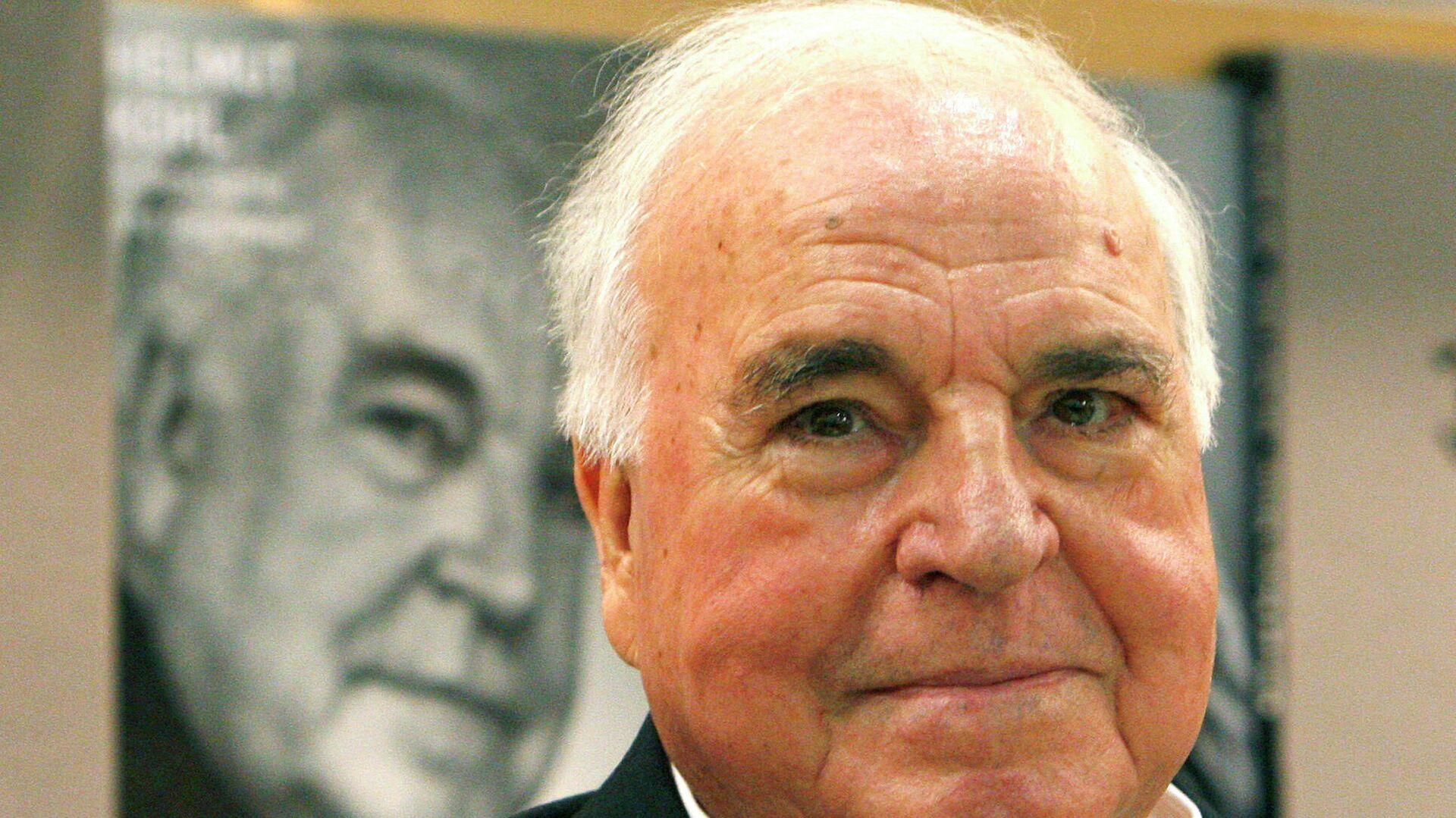 Früherer Bundeskanzler Helmut Kohl  - SNA, 1920, 21.09.2021
