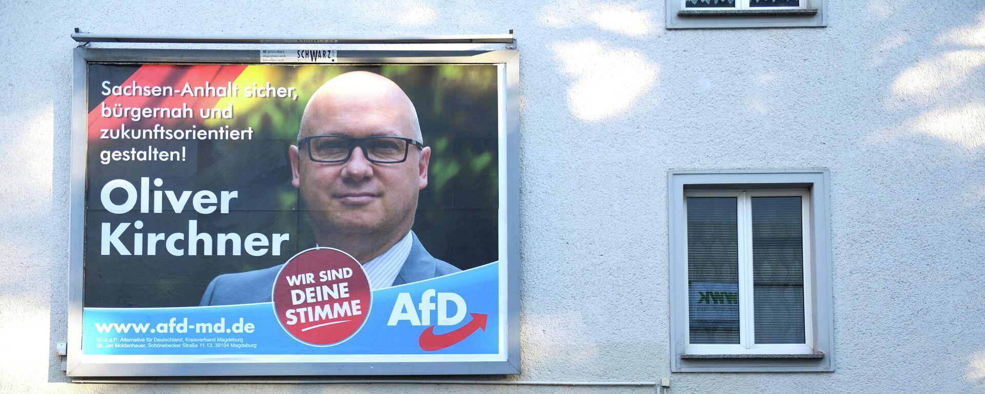 AfD-Kandidat Oliver Kirchner - SNA, 1920, 03.06.2021