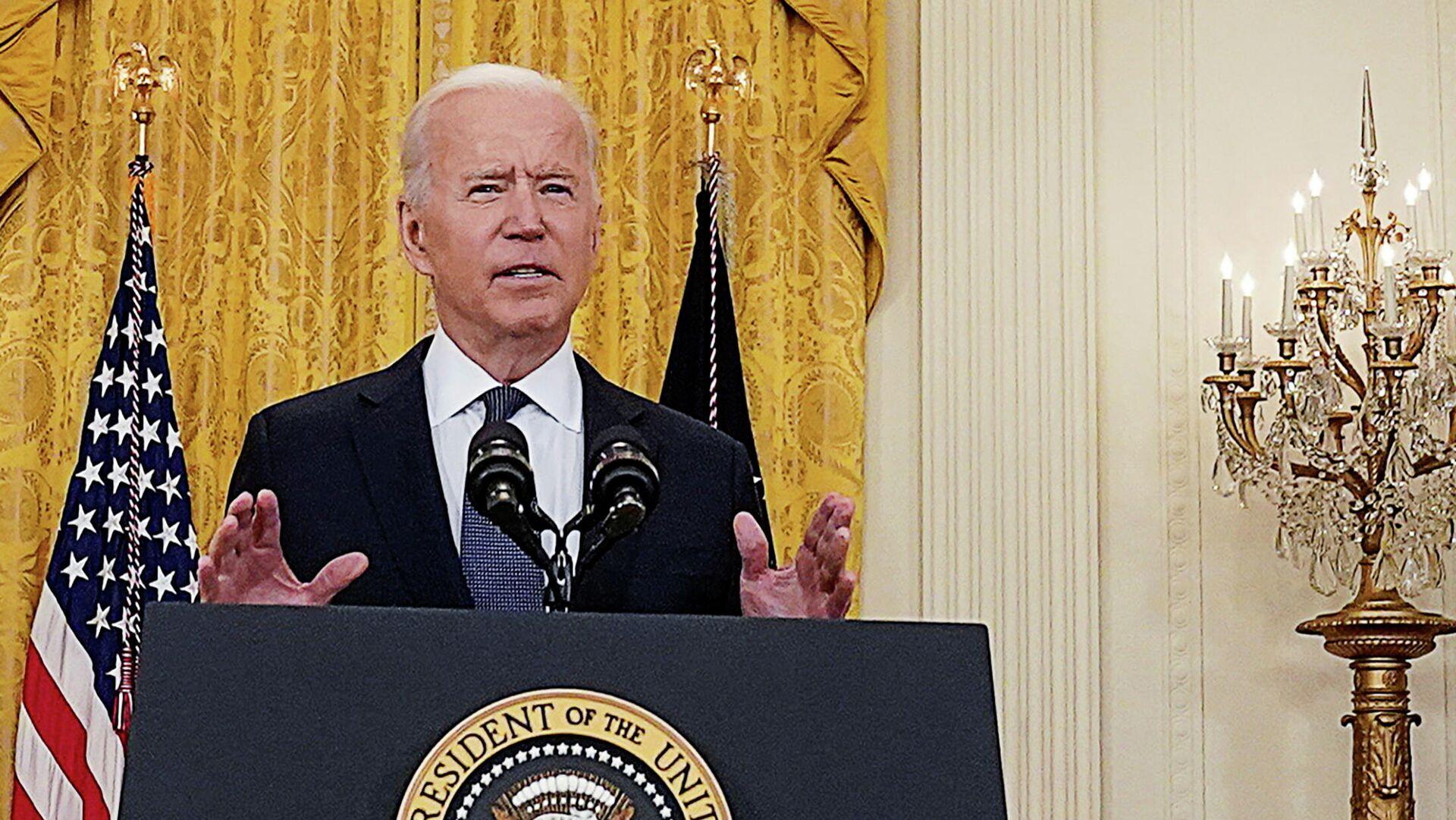US-Präsident Biden - SNA, 1920, 07.06.2021