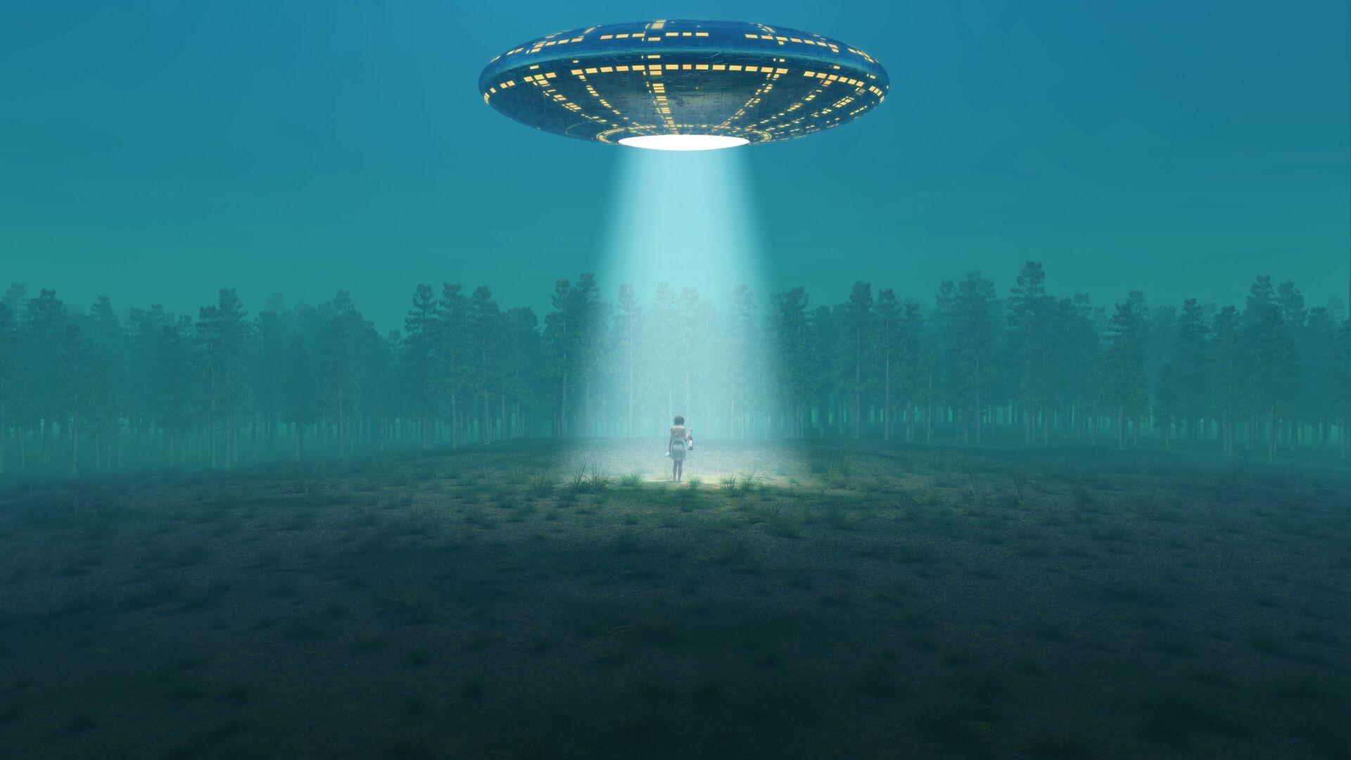 UFO (Symbolbild) - SNA, 1920, 04.06.2021