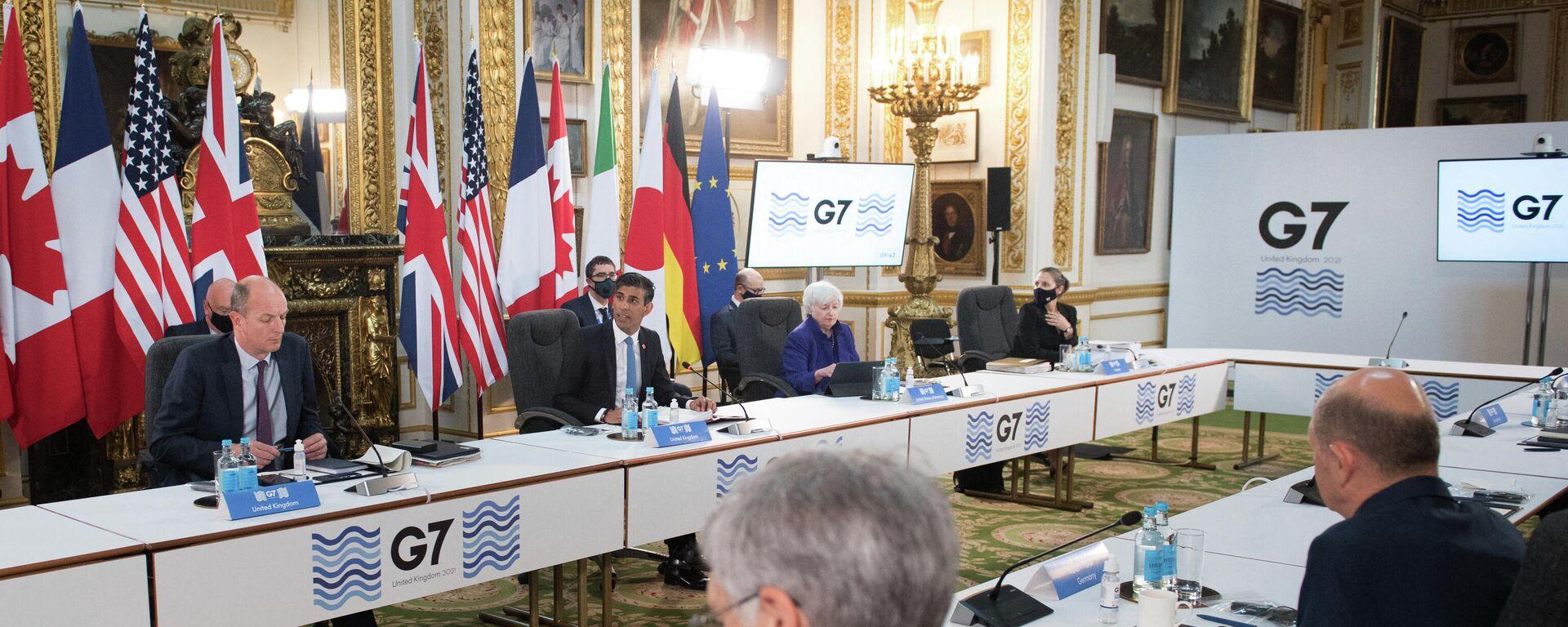 Treffen der G7-Finanzminister in London - SNA, 1920, 05.06.2021
