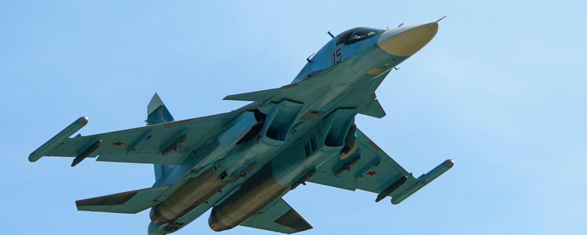 Russischer Überschall-Jagdbomber Su-34  - SNA, 1920, 30.06.2021