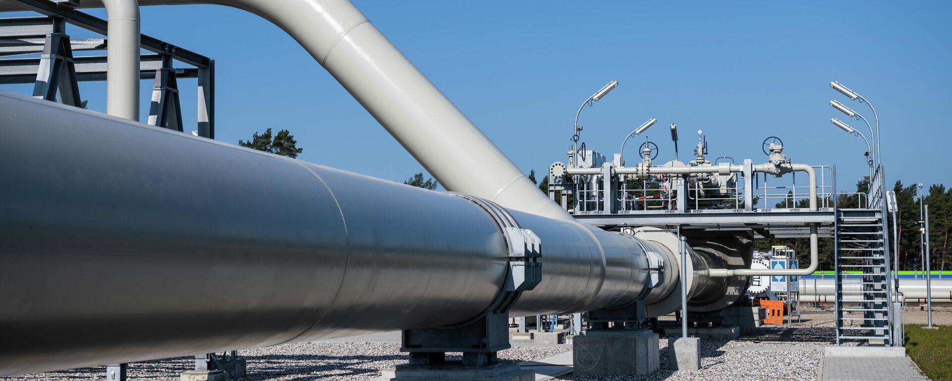 Die Fertigstellung von Nord Stream 2 - SNA, 1920, 09.08.2021