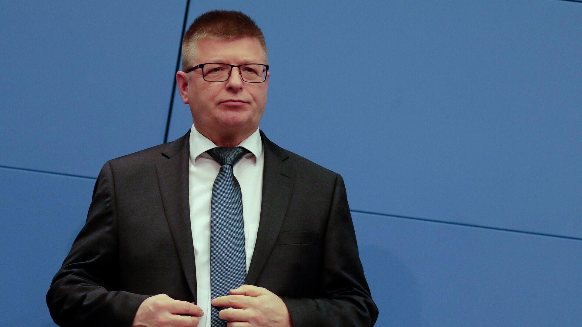 Der Verfassungsschutzchef Thomas Haldenwang - SNA, 1920, 06.06.2021