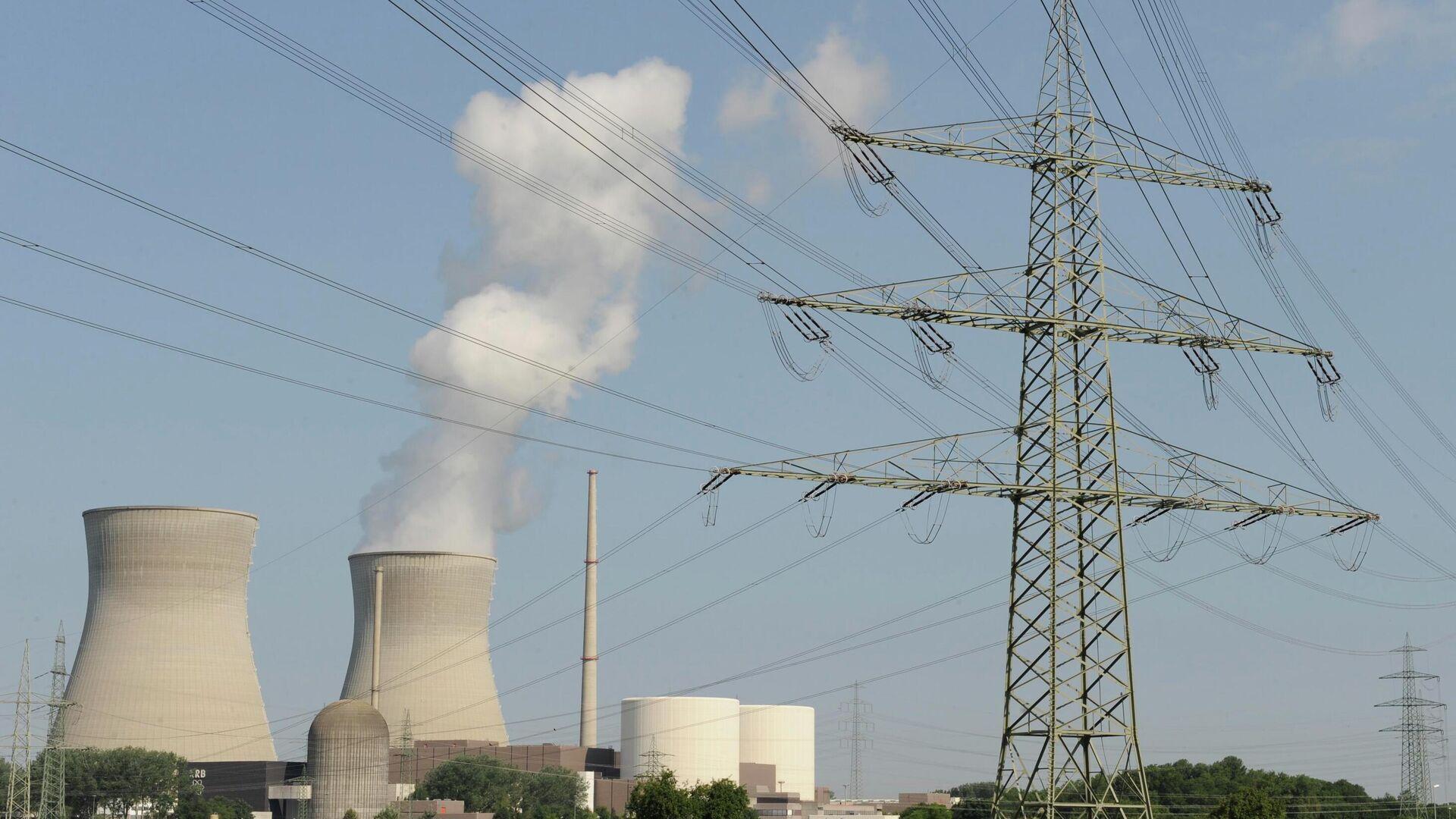 Atomkraftwerk (Symbolbild)  - SNA, 1920, 09.07.2021