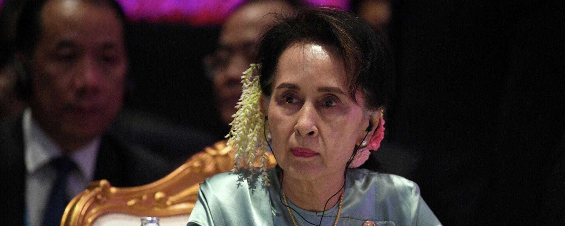 Aung San Suu Kyi (Archivbild) - SNA, 1920, 10.06.2021