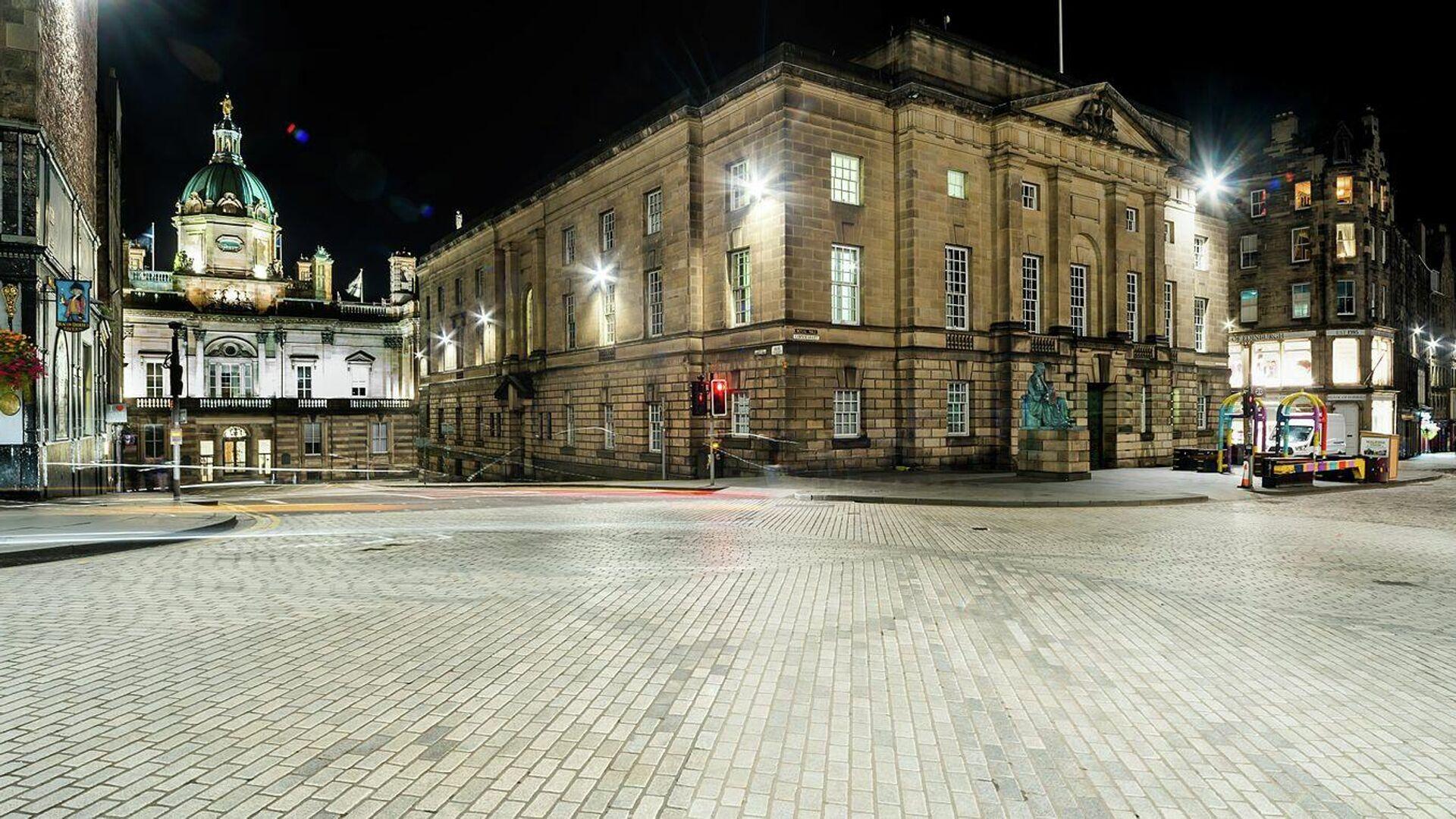 Der schottische High Court of Justiciary in Edinburgh - SNA, 1920, 11.06.2021
