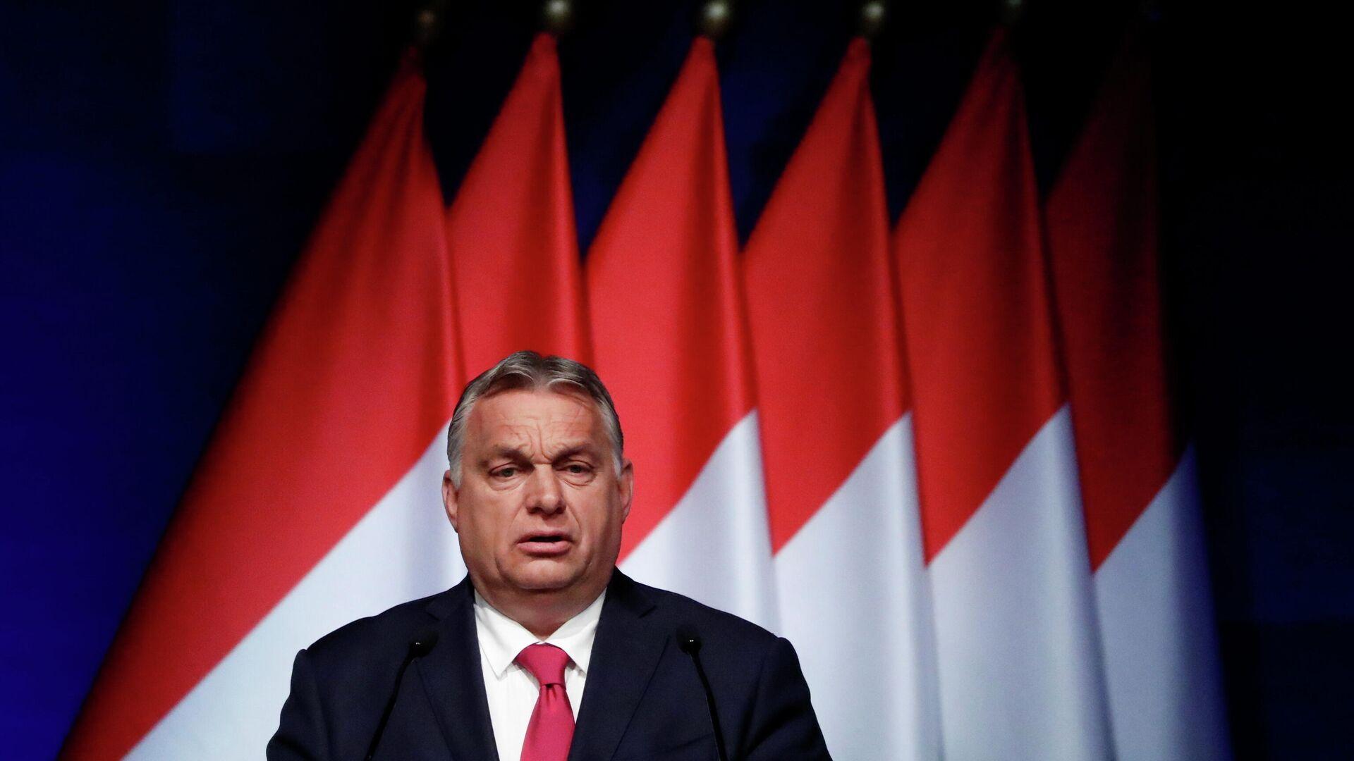 Der ungarische Ministerpräsident Viktor Orbán - SNA, 1920, 05.07.2021