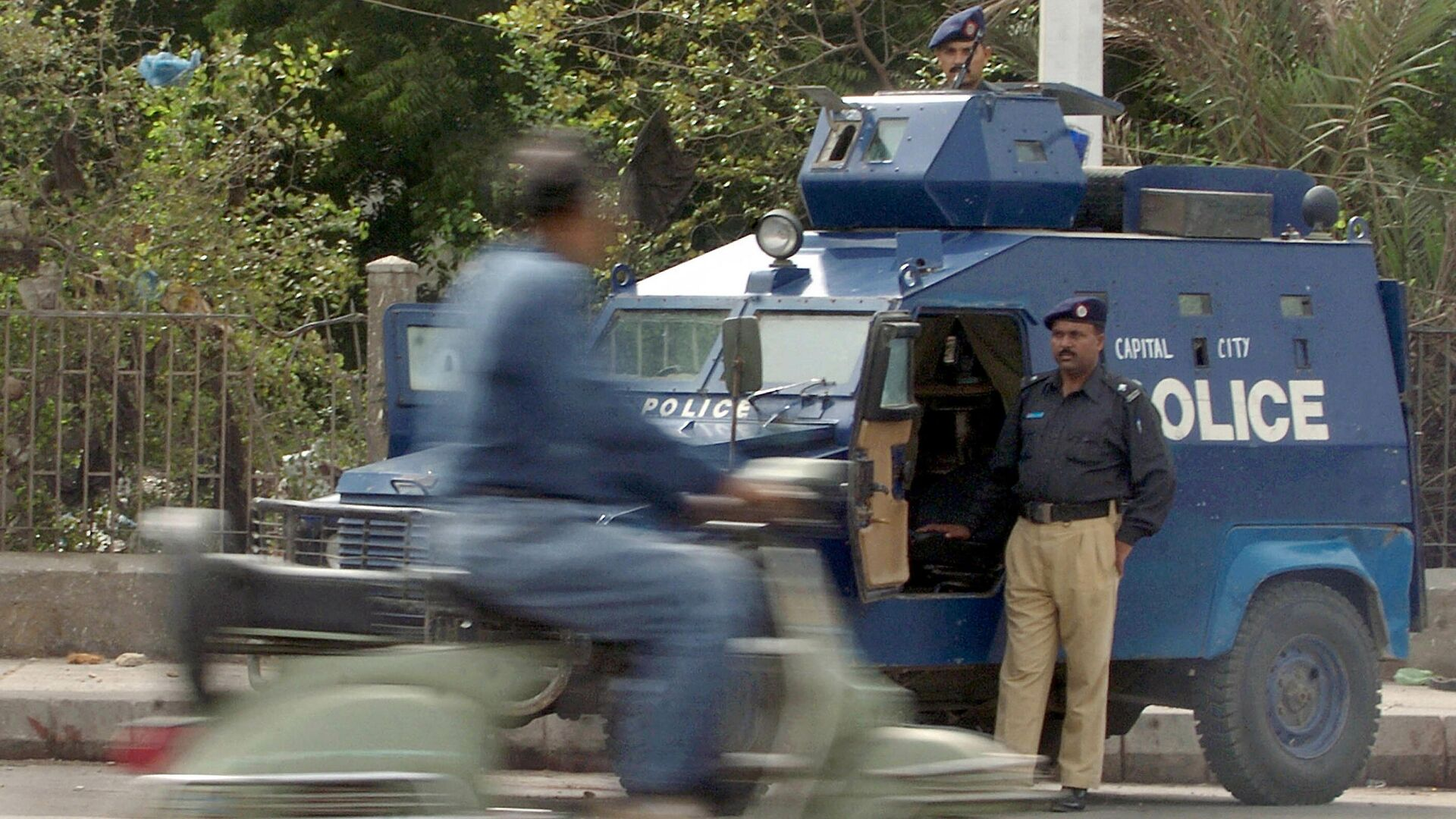 Pakistanische Polizei (Symbolbild)  - SNA, 1920, 11.06.2021
