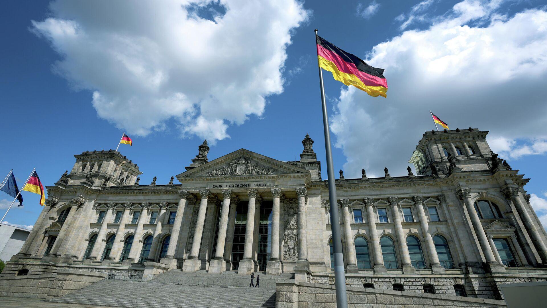 Das Reichstagsgebäude - SNA, 1920, 08.09.2021