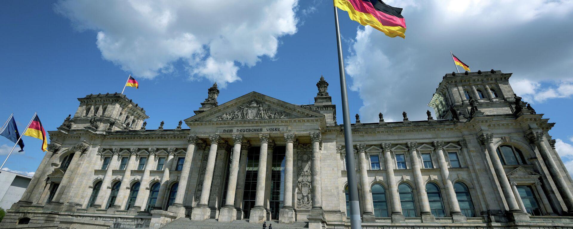 Das Reichstagsgebäude - SNA, 1920, 14.07.2021