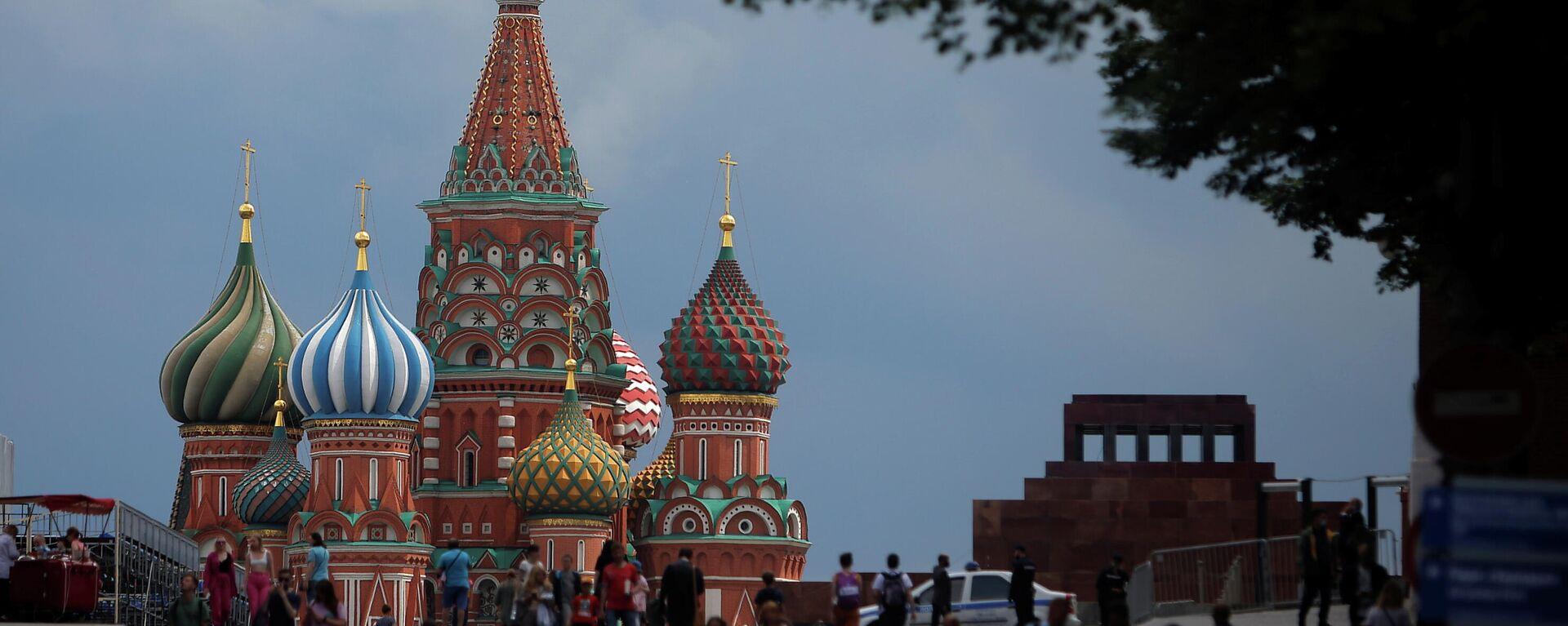 Der Rote Platz in Moskau - SNA, 1920, 01.07.2021