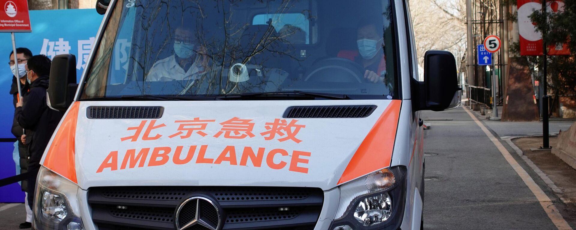 Ein Rettungswagen in China - SNA, 1920, 13.06.2021