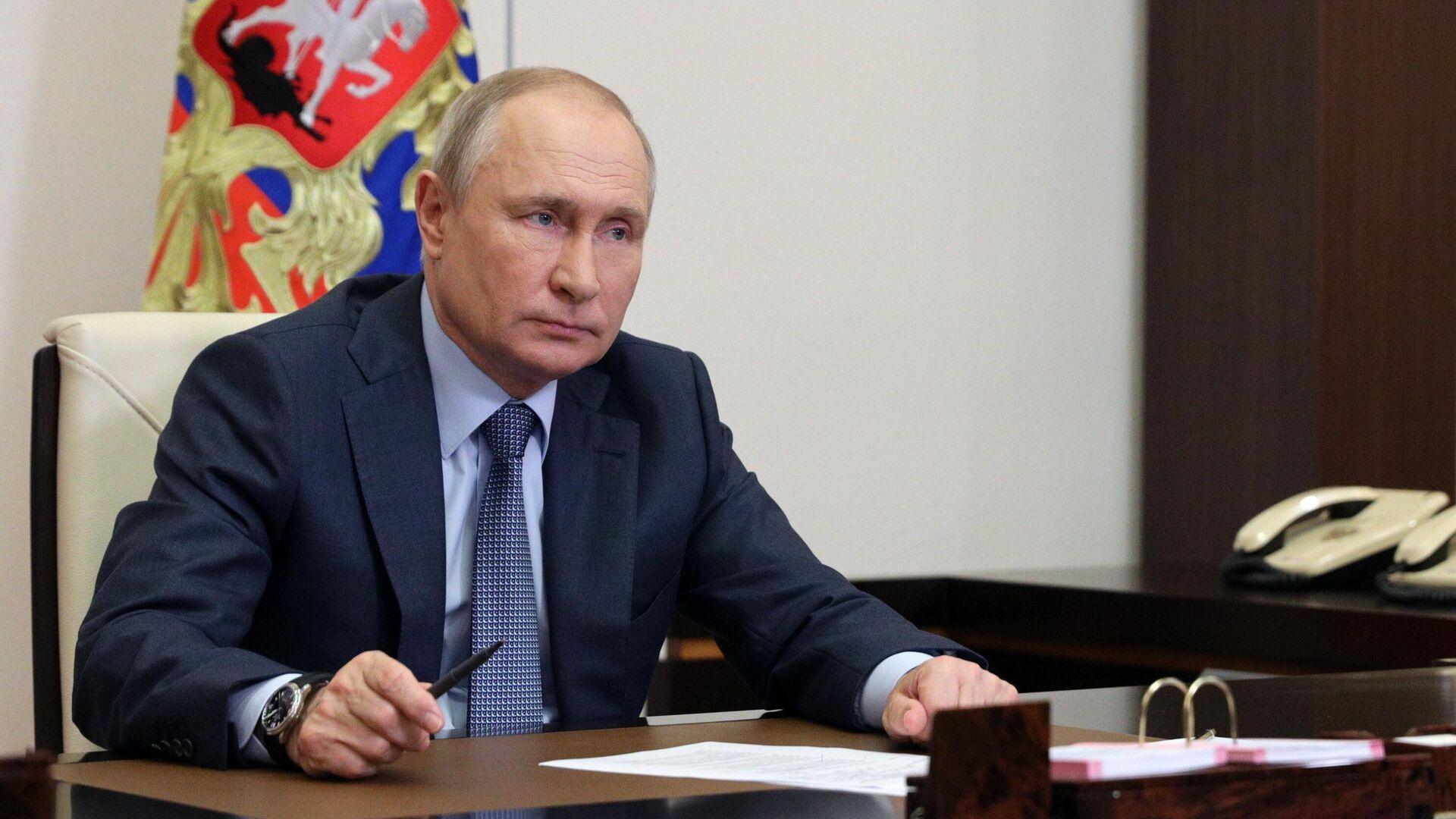 Russlands Präsident Wladimir Putin  - SNA, 1920, 23.09.2021