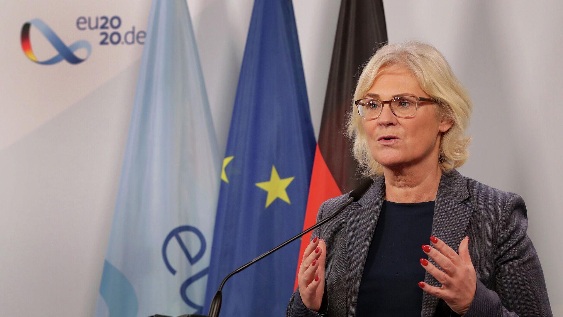 Bundesjustizministerin Christine Lambrecht  - SNA, 1920, 16.08.2021