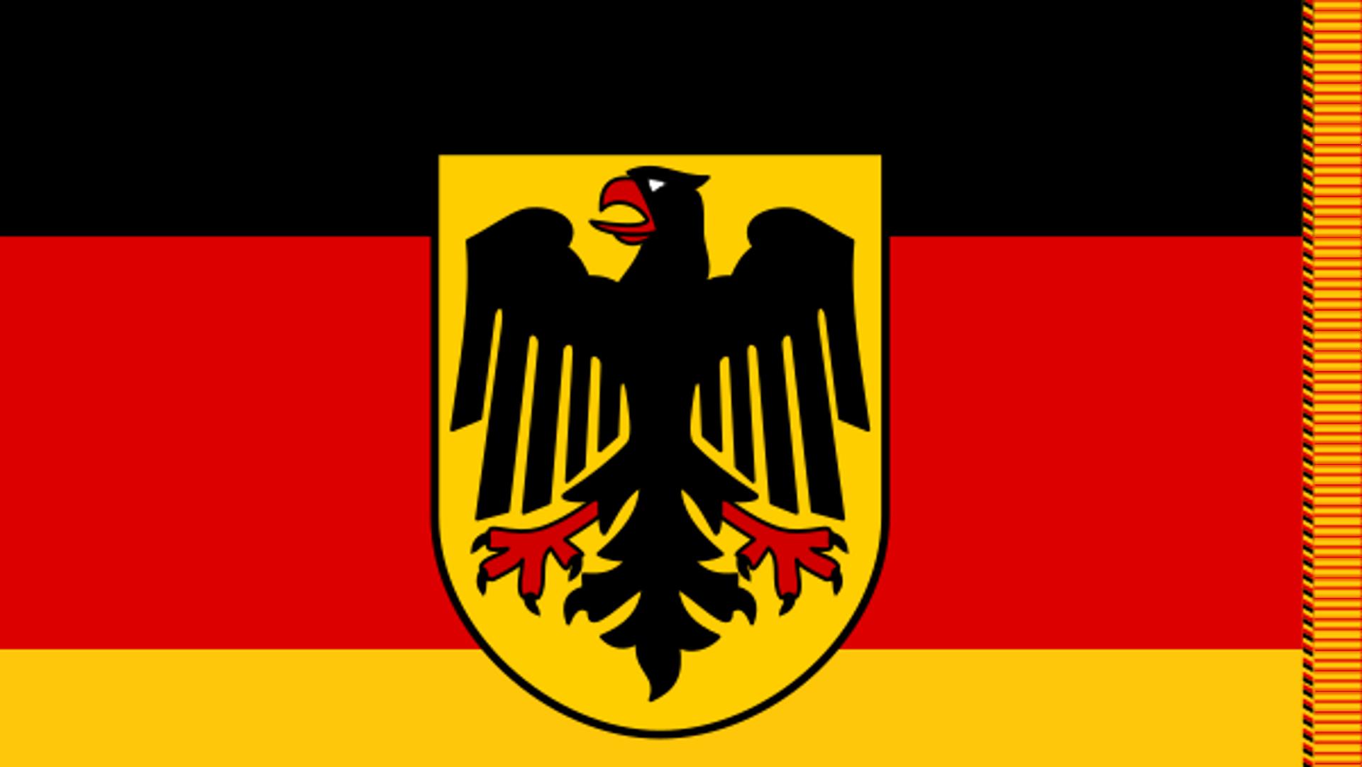 Truppenfahne der Bundeswehr (Symbolbild) - SNA, 1920, 03.07.2021