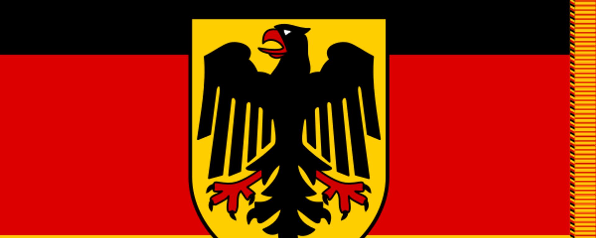 Truppenfahne der Bundeswehr (Symbolbild) - SNA, 1920, 14.06.2021