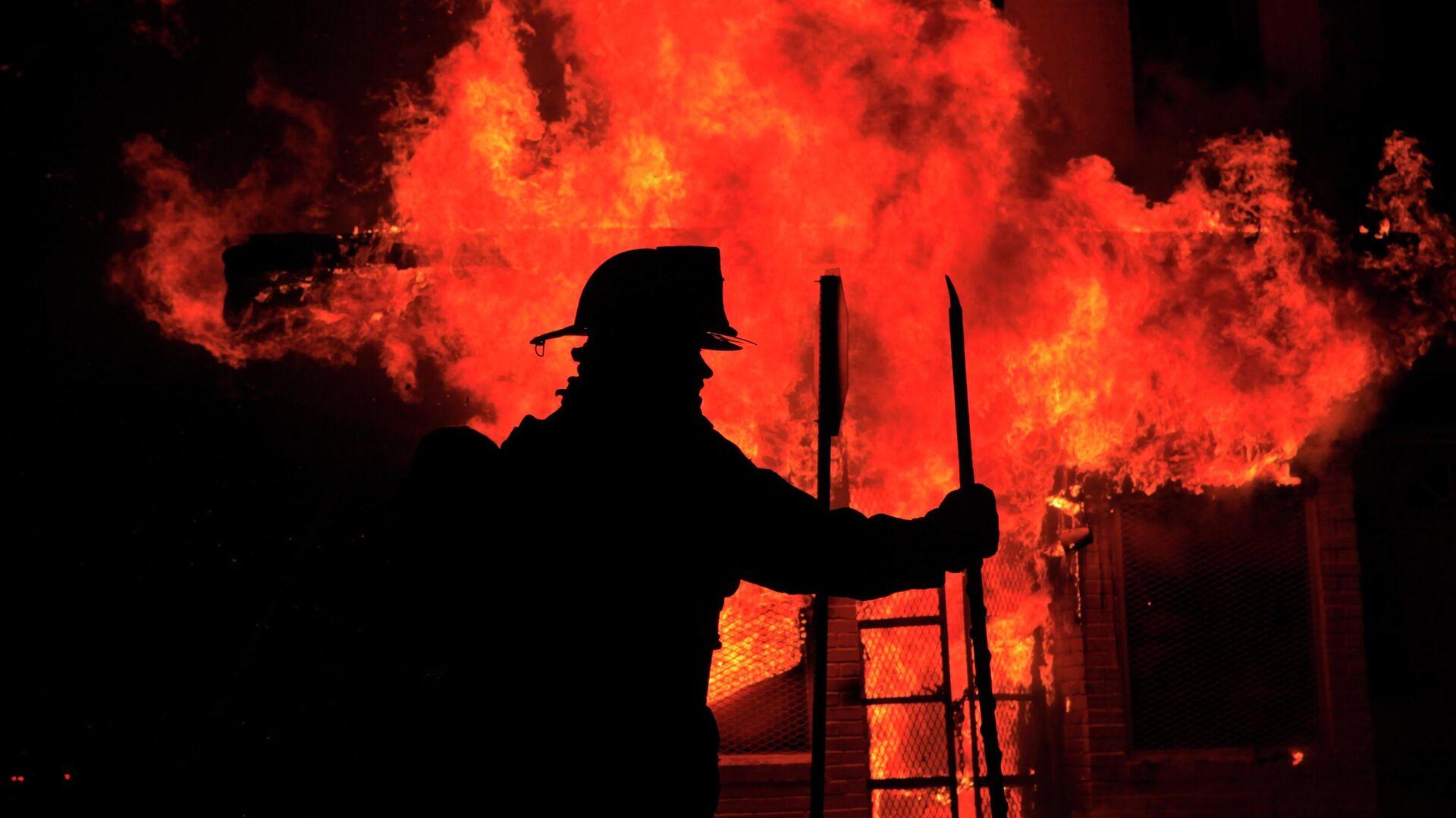 Feuerwehr in den USA (Archiv) - SNA, 1920, 28.07.2021