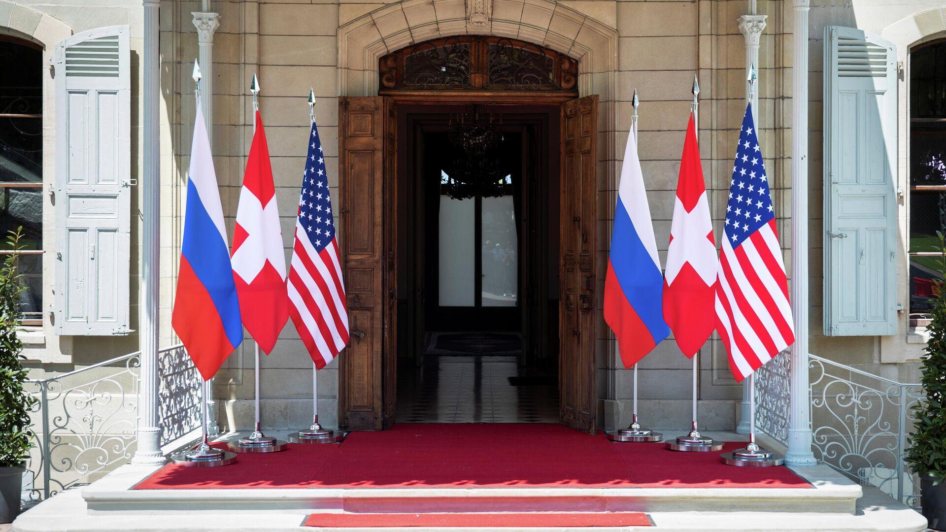 Die Villa La Grange in Genf, wo das erste Gipfeltreffen von Wladimir Putin und Joe Biden stattfinden soll - SNA, 1920, 06.07.2021