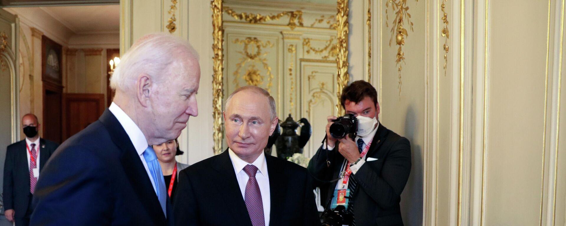 Putin-Biden-Treffen in Genf - SNA, 1920, 17.06.2021