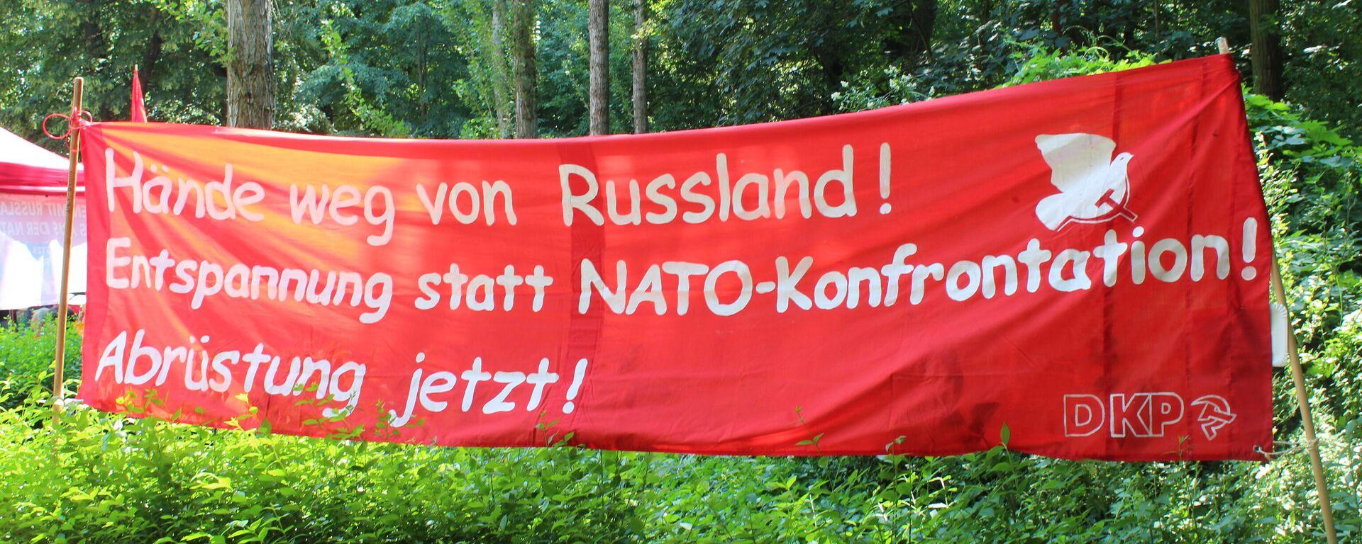 """Veranstaltung """"Frieden mit Russland – Nein zur Nato-Aggression"""" - SNA, 1920, 20.06.2021"""