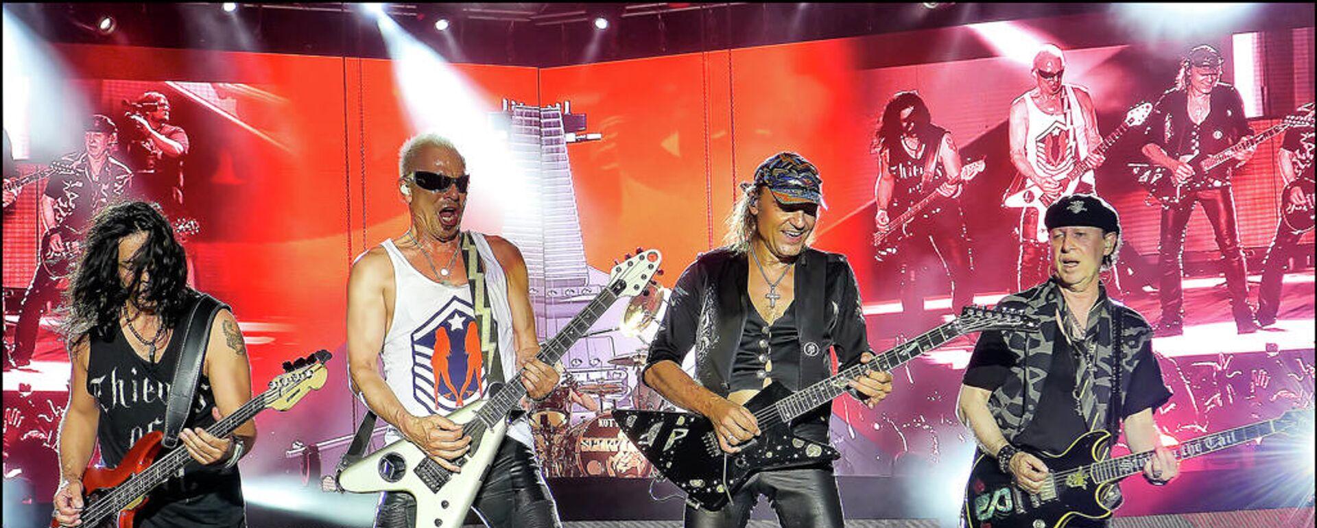 Scorpions bei RockFest in Barcelona (23.07.2015) - SNA, 1920, 21.06.2021