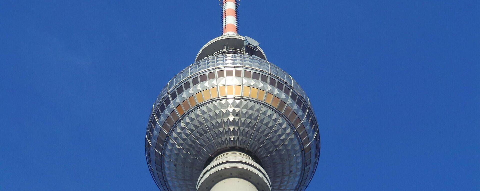 Fernsehturm Berlin (Archivbild) - SNA, 1920, 21.06.2021