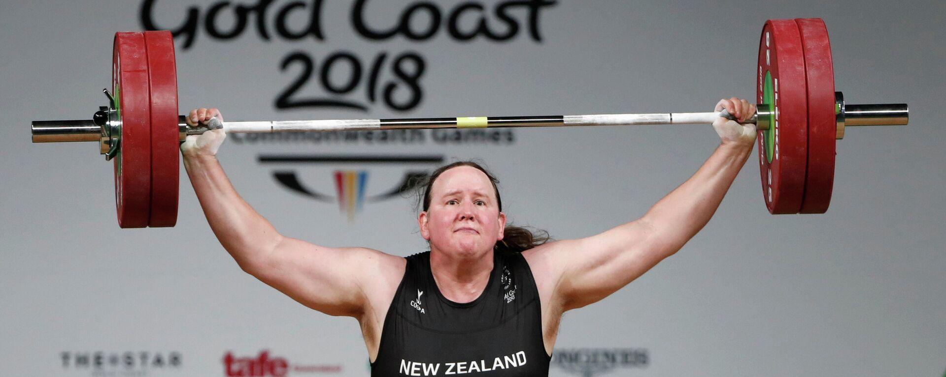 Erste Transgender-Sportlerin bei Olympia Laurel Hubbard - SNA, 1920, 21.06.2021