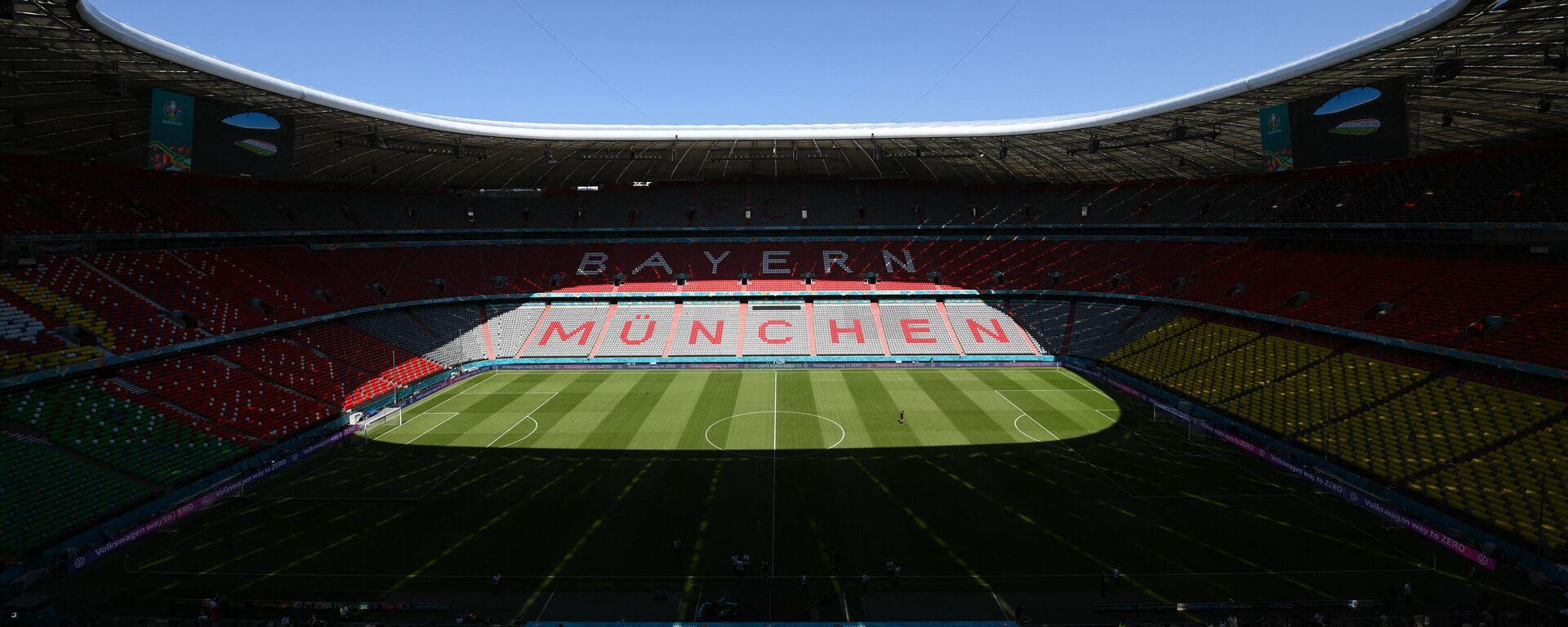 Allianz Arena in München, 18. Juni 2021 - SNA, 1920, 21.06.2021
