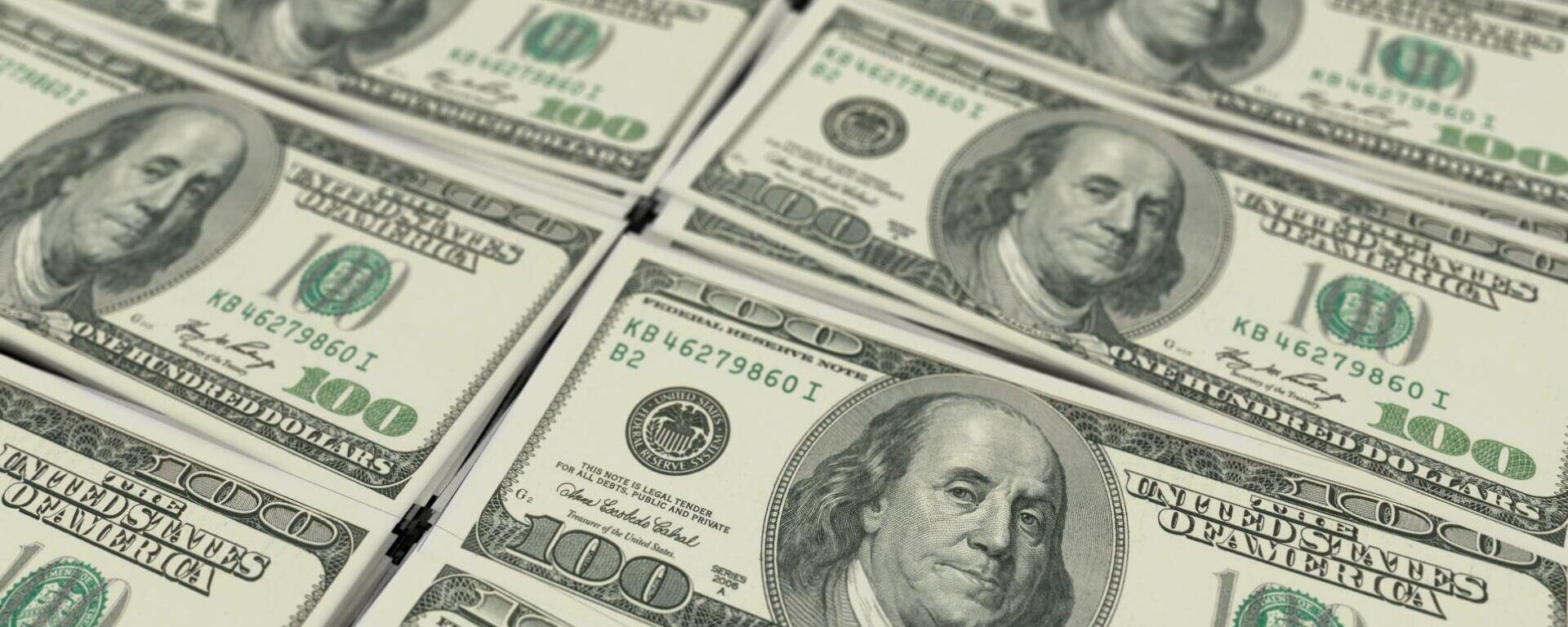 Dollar (Symbolbild) - SNA, 1920, 03.10.2021