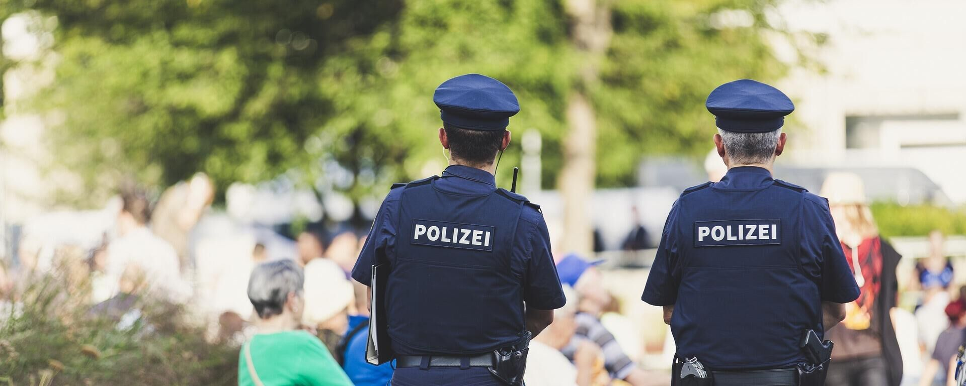 Polizeieinsatz (Symbolbild) - SNA, 1920, 02.07.2021