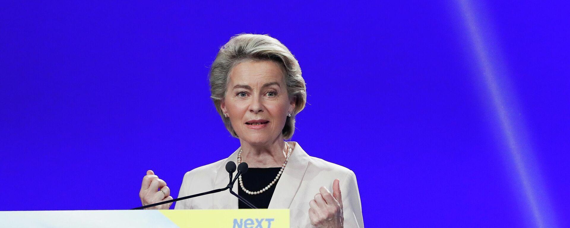Die Präsidentin der Europäischen Kommission, Ursula von der Leyen - SNA, 1920, 23.06.2021