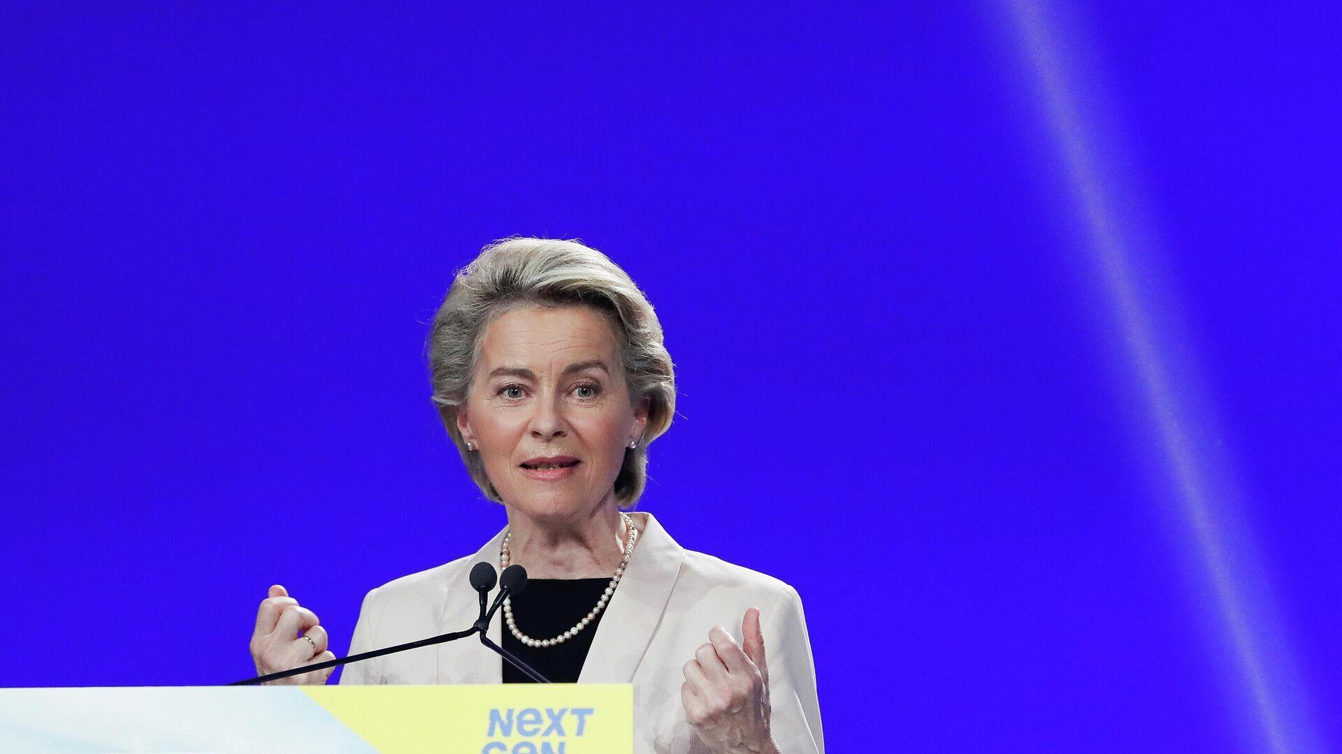 Die Präsidentin der Europäischen Kommission, Ursula von der Leyen - SNA, 1920, 07.07.2021