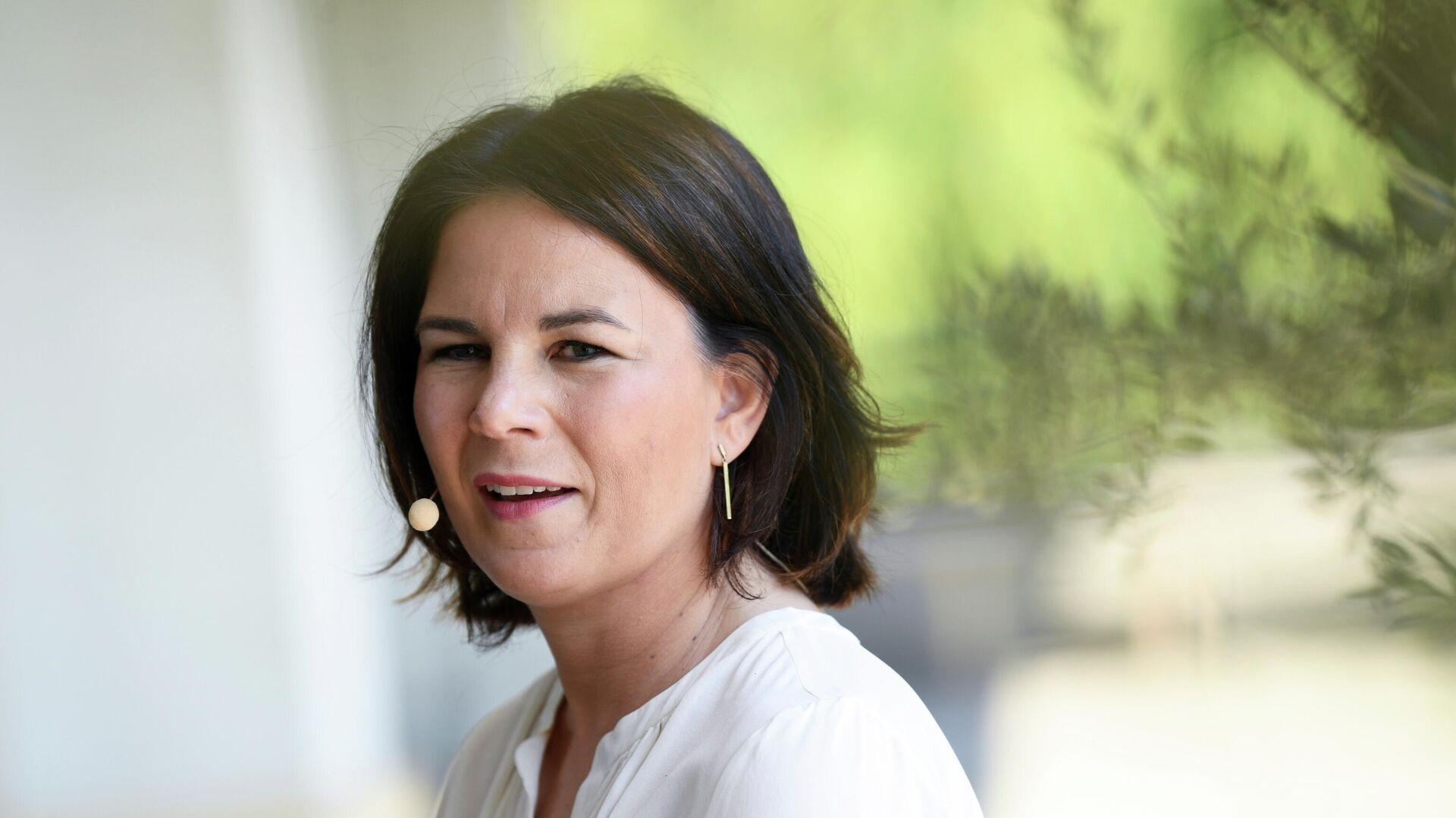 Grünen-Vorsitzende und Kanzlerkandidatin Annalena Baerbock - SNA, 1920, 01.07.2021
