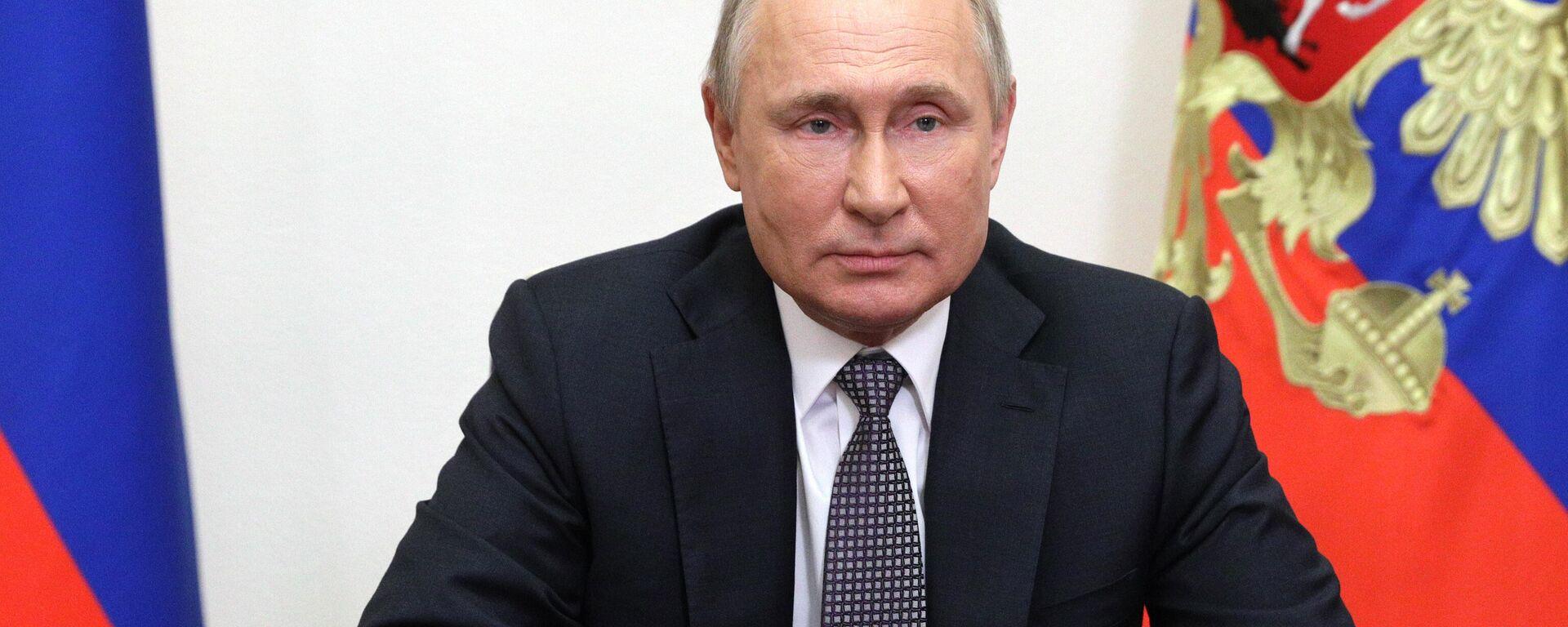 Präsident Wladimir Putin  - SNA, 1920, 06.10.2021